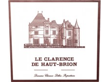 LE CLARENCE DE HAUT-BRION Second wine of Ch. Haut-Brion 2016 bottle 75cl