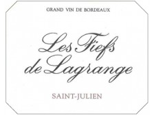LES FIEFS DE LAGRANGE Second wine of Ch. Lagrange 2016 bottle 75cl