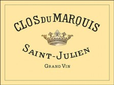 CLOS DU MARQUIS Second vin du Château Léoville-Las Cases 1996 bottle 75cl