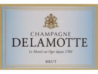 Champagne delamotte brut non mill sim la bouteille 75cl for Champagne delamotte prix