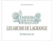 LES ARUMS DE LAGRANGE Dry white wine of Ch. Lagrange 2016 bottle 75cl