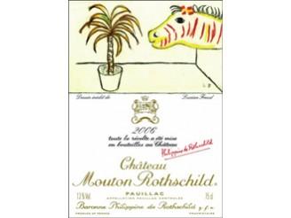 Château MOUTON-ROTHSCHILD 1er grand cru classé 2006 bottle 75cl