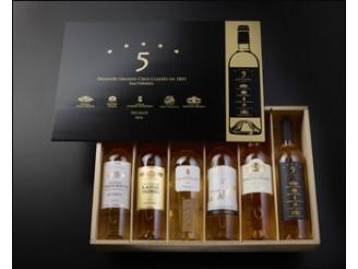 Château CLIMENS 1er grand cru classé 2016 la caisse bois de 6 bouteilles 75cl