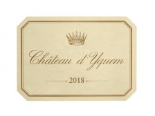 Château d'YQUEM 1er grand cru classé 2018 wooden case of 1 bottle 75cl