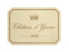 Château d'YQUEM 1er Grand cru classé 2018 la caisse bois de 1 magnum 150cl