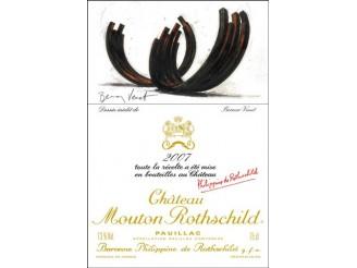 Château MOUTON-ROTHSCHILD 1er grand cru classé 2007 bottle 75cl