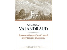 Château VALANDRAUD 1er grand cru classé Futures 2015 bottle 75cl
