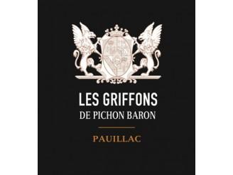 LES GRIFFONS DE PICHON BARON Second vin du Château Pichon-Longueville Baron 2018 la bouteille 75cl