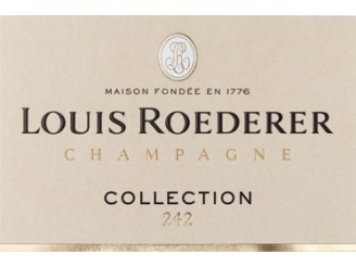 Champagne LOUIS ROEDERER Collection n°242 ---- bottle 75cl