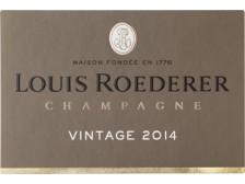 Champagne LOUIS ROEDERER Brut Millésimé 2014 bottle 75cl