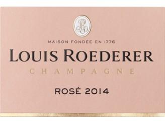 Champagne LOUIS ROEDERER Rosé Millésimé (pink) 2014 bottle 75cl