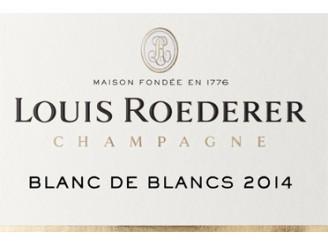 Champagne LOUIS ROEDERER Blanc de blancs Millésimé 2014 bottle 75cl