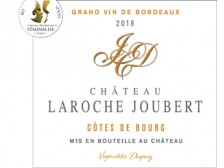 Château LAROCHE JOUBERT Red 2016 bottle 75cl