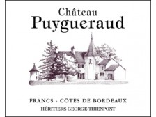 Château PUYGUÉRAUD Red 2018 Futures