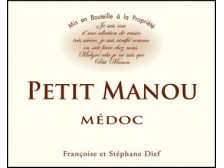 PETIT MANOU Second wine from Clos Manou 2017 bottle 75cl