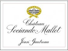 Château SOCIANDO-MALLET Red 2018 wooden case of 1 magnum 150cl