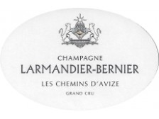 Champagne LARMANDIER-BERNIER 'Les Chemins d'Avize' Grand Cru 2012 bottle 75cl