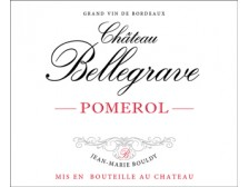 Château BELLEGRAVE Red 2016 bottle 75cl
