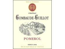 Château GOMBAUDE-GUILLOT Red 2015 bottle 75cl