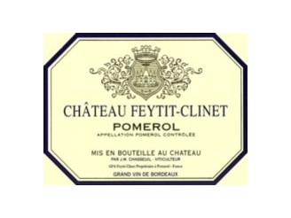 Château FEYTIT-CLINET Red 2001 bottle 75cl