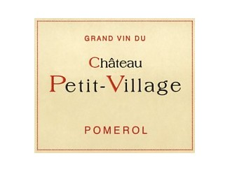 Château PETIT-VILLAGE Red 2015 bottle 75cl