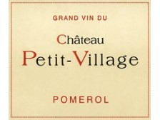 Château PETIT-VILLAGE Red 2017 bottle 75cl