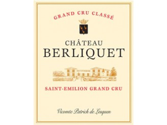 Château BERLIQUET Grand cru classé 2016 wooden case of 6 bottles 75cl