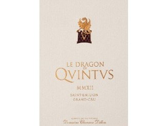 LE DRAGON DE QUINTUS Second wine from Château Quintus 2017 bottle 75cl