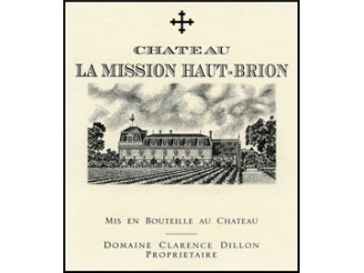 Château La MISSION HAUT-BRION Grand cru classé 2010 bottle 75cl
