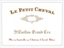 LE PETIT CHEVAL Second wine from Château Cheval Blanc 2009 bottle 75cl