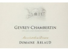 Domaine ARLAUD Gevrey-Chambertin Village red 2017 bottle 75cl