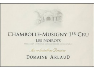 Domaine ARLAUD Chambolle-Musigny Les Noirots 1er cru red 2014 bottle 75cl