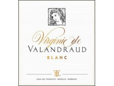 VIRGINIE de VALANDRAUD blanc Second dry white wine from Château Valandraud 2018 Futures