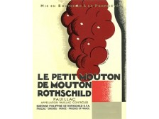 LE PETIT MOUTON Second wine from Château Mouton-Rothschild 2017 bottle 75cl