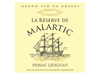 RÉSERVE de MALARTIC Second red wine from Château Malartic-Lagravière 2014 bottle 75cl
