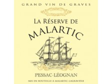RÉSERVE de MALARTIC Second red wine from Château Malartic-Lagravière 2016 bottle 75cl