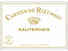 LES CARMES DE RIEUSSEC Second sweet wine from Château Rieussec 2014 bottle 75cl