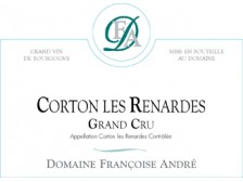 Domaine Françoise ANDRÉ Corton Les Renardes Grand cru red 2017 bottle 75cl