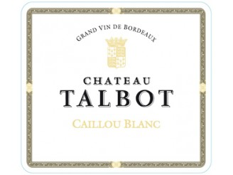 CAILLOU BLANC Dry white wine from Château Talbot 2018 Futures