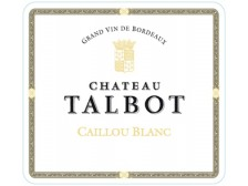 CAILLOU BLANC Dry white wine of Ch. Talbot 2017 Futures