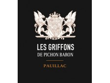 LES GRIFFONS DE PICHON BARON Second wine from Château Pichon-Longueville Baron 2018 bottle 75cl