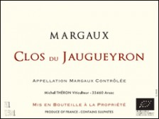"Clos du JAUGUEYRON ""Grand Vin"" 2015 bottle 75cl"