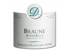 "Domaine Françoise ANDRÉ Beaune ""Montée Rouge"" Village red 2017 bottle 75cl"