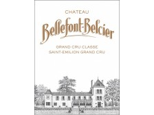 Château BELLEFONT-BELCIER Grand cru classé 2017 wooden case of 6 bottles 75cl