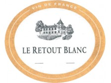 Le RETOUT BLANC Dry white 2019 bottle 75cl