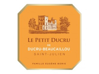 LE PETIT DUCRU Third wine from Château Ducru-Beaucaillou 2019 Futures