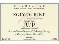 Champagne ÉGLY-OURIET Grand Cru Extra-Brut Vieillissement prolongé no vintage bottle 75cl