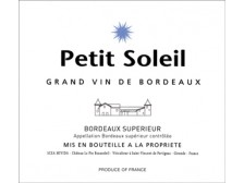 PETIT SOLEIL Second wine from Château LE PIN BEAUSOLEIL 2018 bottle 75cl